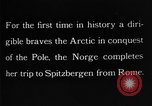 Image of North Pole expedition Spitsbergen Svalbard Norway, 1926, second 36 stock footage video 65675051109