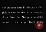 Image of North Pole expedition Spitsbergen Svalbard Norway, 1926, second 41 stock footage video 65675051109