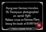Image of aircraft Germany, 1916, second 29 stock footage video 65675051127