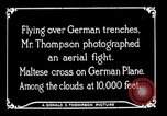 Image of aircraft Germany, 1916, second 34 stock footage video 65675051127