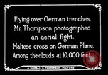 Image of aircraft Germany, 1916, second 35 stock footage video 65675051127