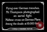 Image of aircraft Germany, 1916, second 36 stock footage video 65675051127