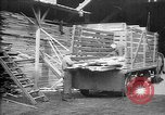 Image of Aircraft being constructed at  German Albatros factory Berlin Germany, 1917, second 34 stock footage video 65675051130