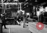 Image of Aircraft being constructed at  German Albatros factory Berlin Germany, 1917, second 57 stock footage video 65675051130
