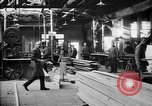 Image of Aircraft being constructed at  German Albatros factory Berlin Germany, 1917, second 58 stock footage video 65675051130