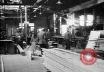 Image of Aircraft being constructed at  German Albatros factory Berlin Germany, 1917, second 59 stock footage video 65675051130
