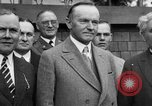 Image of President Calvin Coolidge United States USA, 1926, second 18 stock footage video 65675051139