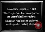Image of Emperor Hirohito reviews Japanese Navy Yokohama Japan, 1927, second 1 stock footage video 65675051155