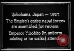 Image of Emperor Hirohito reviews Japanese Navy Yokohama Japan, 1927, second 2 stock footage video 65675051155