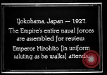 Image of Emperor Hirohito reviews Japanese Navy Yokohama Japan, 1927, second 13 stock footage video 65675051155