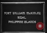 Image of Philippine Division troops parade Rizal Philippine Islands, 1928, second 4 stock footage video 65675051156