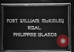 Image of Philippine Division troops parade Rizal Philippine Islands, 1928, second 5 stock footage video 65675051156
