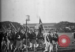 Image of Philippine Division troops parade Rizal Philippine Islands, 1928, second 57 stock footage video 65675051156