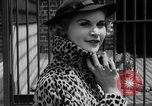 Image of fur fashions New York City USA, 1935, second 21 stock footage video 65675051172