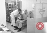 Image of preflight physical checkup United States USA, 1962, second 35 stock footage video 65675051196