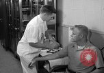 Image of preflight physical checkup United States USA, 1962, second 38 stock footage video 65675051196