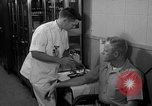 Image of preflight physical checkup United States USA, 1962, second 51 stock footage video 65675051196