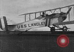 Image of USS Langley California United States USA, 1922, second 26 stock footage video 65675051265