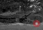 Image of United States 127th Field Artillery Regiment firing Howitzers Saint Lo France, 1944, second 10 stock footage video 65675051311