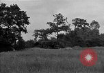 Image of United States 127th Field Artillery Regiment firing Howitzers Saint Lo France, 1944, second 15 stock footage video 65675051311