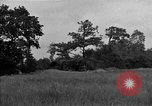 Image of United States 127th Field Artillery Regiment firing Howitzers Saint Lo France, 1944, second 16 stock footage video 65675051311