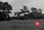 Image of United States 127th Field Artillery Regiment firing Howitzers Saint Lo France, 1944, second 17 stock footage video 65675051311