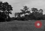 Image of United States 127th Field Artillery Regiment firing Howitzers Saint Lo France, 1944, second 18 stock footage video 65675051311