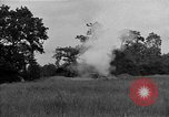 Image of United States 127th Field Artillery Regiment firing Howitzers Saint Lo France, 1944, second 20 stock footage video 65675051311