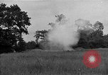 Image of United States 127th Field Artillery Regiment firing Howitzers Saint Lo France, 1944, second 21 stock footage video 65675051311