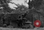 Image of United States 127th Field Artillery Regiment firing Howitzers Saint Lo France, 1944, second 26 stock footage video 65675051311
