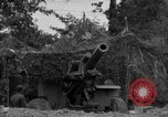 Image of United States 127th Field Artillery Regiment firing Howitzers Saint Lo France, 1944, second 27 stock footage video 65675051311