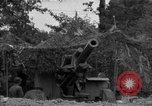 Image of United States 127th Field Artillery Regiment firing Howitzers Saint Lo France, 1944, second 30 stock footage video 65675051311