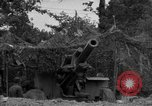 Image of United States 127th Field Artillery Regiment firing Howitzers Saint Lo France, 1944, second 31 stock footage video 65675051311