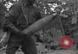 Image of United States 127th Field Artillery Regiment Saint Lo France, 1944, second 19 stock footage video 65675051315