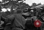 Image of United States 127th Field Artillery Regiment Saint Lo France, 1944, second 25 stock footage video 65675051315