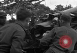 Image of United States 127th Field Artillery Regiment Saint Lo France, 1944, second 28 stock footage video 65675051315