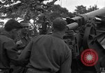 Image of United States 127th Field Artillery Regiment Saint Lo France, 1944, second 29 stock footage video 65675051315