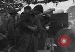 Image of United States 127th Field Artillery Regiment Saint Lo France, 1944, second 39 stock footage video 65675051315