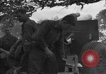 Image of United States 127th Field Artillery Regiment Saint Lo France, 1944, second 40 stock footage video 65675051315