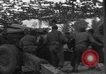 Image of United States 127th Field Artillery Regiment Saint Lo France, 1944, second 50 stock footage video 65675051315