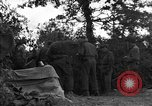Image of United States 127th Field Artillery Regiment Saint Lo France, 1944, second 45 stock footage video 65675051316
