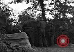 Image of United States 127th Field Artillery Regiment Saint Lo France, 1944, second 47 stock footage video 65675051316