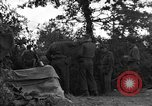 Image of United States 127th Field Artillery Regiment Saint Lo France, 1944, second 49 stock footage video 65675051316