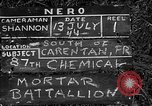 Image of United States 87th Chemical Mortar Battalion Carentan France, 1944, second 5 stock footage video 65675051322