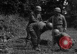Image of United States 87th Chemical Mortar Battalion Carentan France, 1944, second 53 stock footage video 65675051322