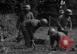 Image of United States 87th Chemical Mortar Battalion Carentan France, 1944, second 54 stock footage video 65675051322