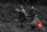 Image of United States 87th Chemical Mortar Battalion Carentan France, 1944, second 56 stock footage video 65675051322