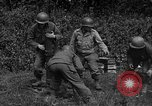 Image of United States 87th Chemical Mortar Battalion Carentan France, 1944, second 60 stock footage video 65675051322