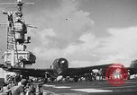 Image of Atomic bomb testing on USS Independence CVL-22 Pacific Ocean, 1951, second 48 stock footage video 65675051356