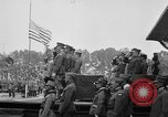 Image of American flag Joinville Le Pont France, 1919, second 2 stock footage video 65675051378